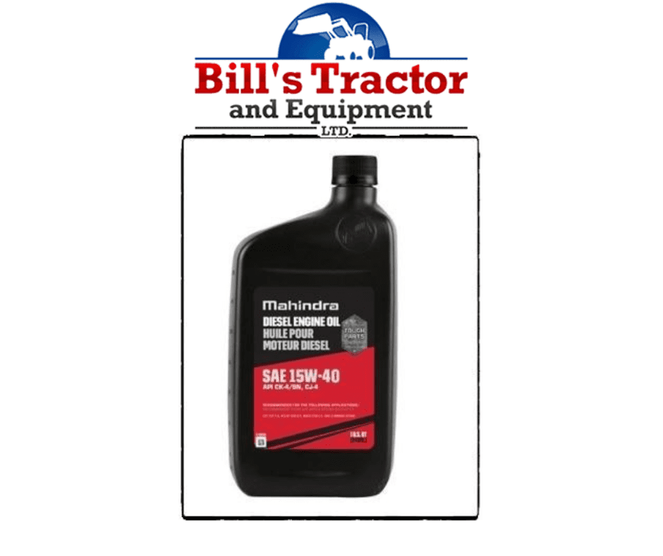 ENGINE OIL CHANGE FOR 6110 CAB MAHINDRA TRACTOR (1540QT-Q9)