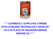 ENGINE OIL CHANGE FOR MAX 24 T4 MAHINDRA TRACTOR (1540QT-Q5)