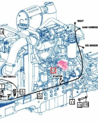 engine speed sensor for 2638 mahindra tractor Mahindra 575 Tractor Engine Diagram Mahindra Engine Diagram #18