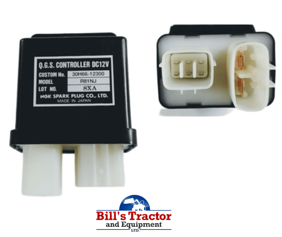 GLOW PLUG CONTROLLER FOR MAHINDRA TRACTOR (30H6602300)