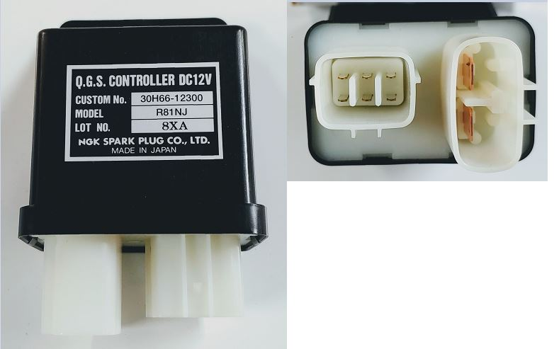 GLOW PLUG CONTROLLER FOR MAX 22 MAHINDRA TRACTOR (30H6602300)