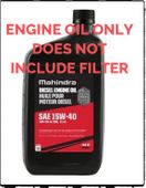 MAHINDRA ENGINE OIL CHANGE FOR 2615 MAHINDRA TRACTOR (1540QT-Q5)