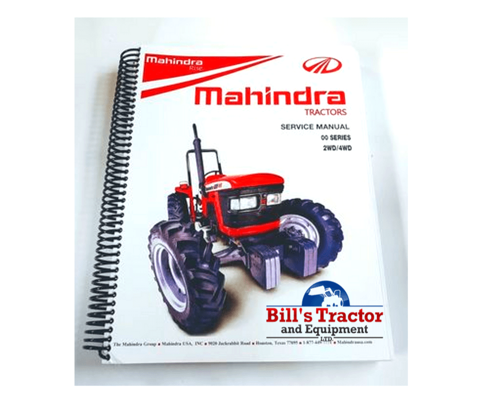 MAHINDRA TRACTOR MANUALS  *****ORDER TODAY!******