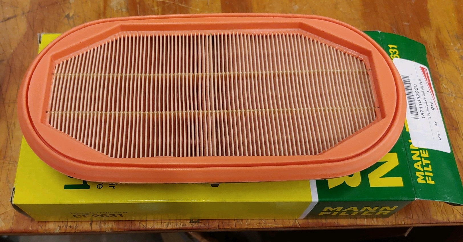 SECONDARY AIR FILTER FOR 9125 MAHINDRA TRACTOR (18711032020)