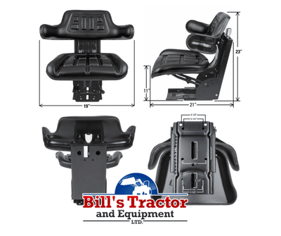 UNIVERSAL TRACTOR SEAT (TS1050ATSP)