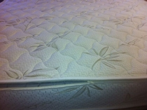 Cal. King Bamboo Wool Zippered Mattress Cover