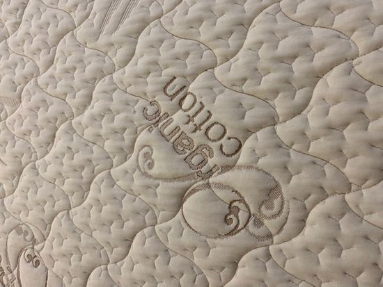 Queen Organic Cotton Zippered Mattress Cover