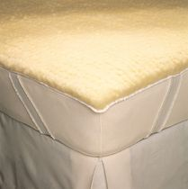 SnugFleece Wool Mattress Pads and Pillow Shams