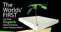 World's First Mattress With Certified Organic Latex