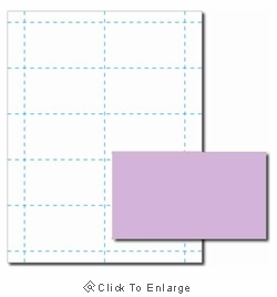 Lavender Purple Business Card Paper Stock