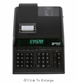 Monroe 8145X 14-Digit Heavy Duty Desktop Printing Calculator