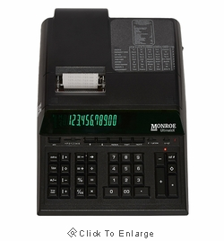 Monroe Ultimate Professional 12 Digit Heavy Duty Desktop Printing Calculator