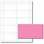 Pulsar Pink Business Card Paper Stock