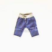 Hatley | Navy Fleece Baby Joggers