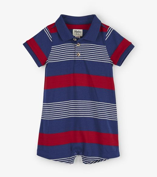 Hatley | Navy Stripes Romper