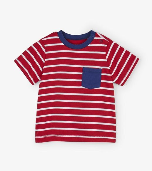 Hatley | Red Stripes Tee
