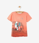 Hatley | Surfs Up Coral Ombre Tee