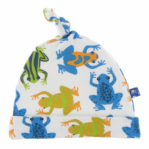 Kickee Pants | Knot Hat: Amazon Frogs