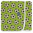 Kickee Pants | Swaddle: Meadow Soccer