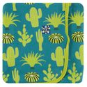 Kickee Pants | Swaddle: Seagrass Cactus