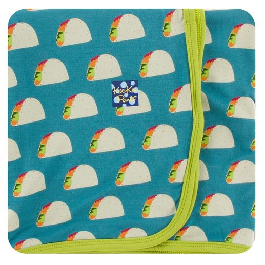 Kickee Pants | Swaddle: Seagrass Tacos