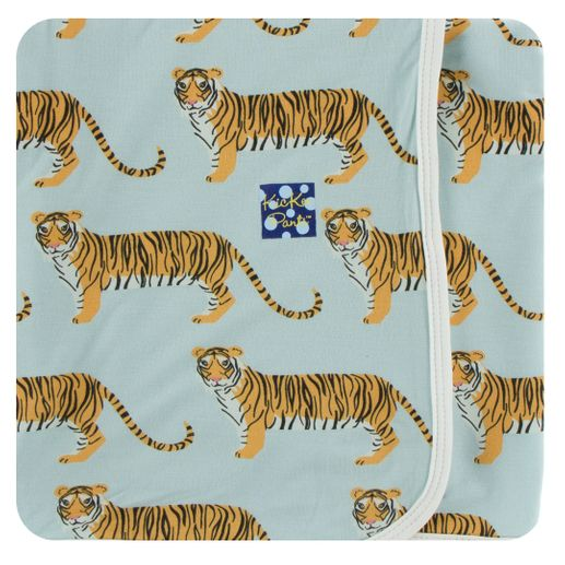 Kickee Pants | Swaddle: Spring Sky Tiger