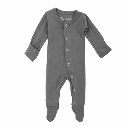 L'ovedbaby | Footie: Gray