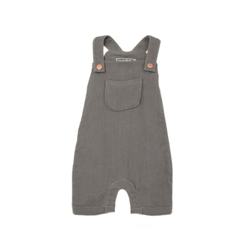 L'ovedbaby | Muslin Overall: Gray