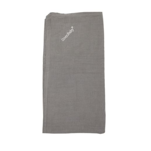 L'ovedbaby | Muslin Security Blanket: Gray