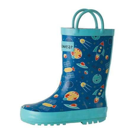 Rain Boots   Outerspace