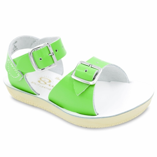 Saltwater Sandals | Lime Surfer