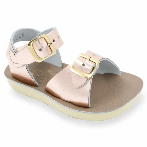 Saltwater Sandals | Rose Gold Surfer