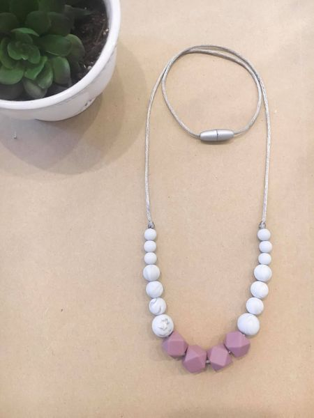 Teething Necklace | Amethyst