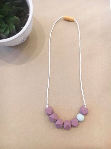 Teething Necklace | Child Amethyst