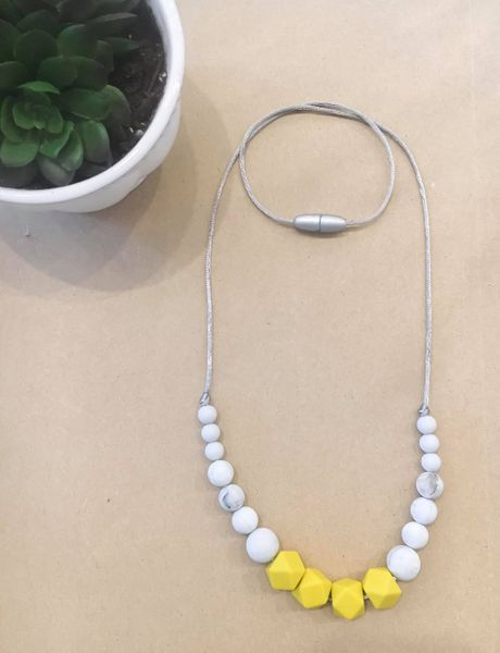 Teething Necklace | Mustard & Marble