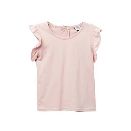 Young + Free | Blush Flutter Sleeve Top