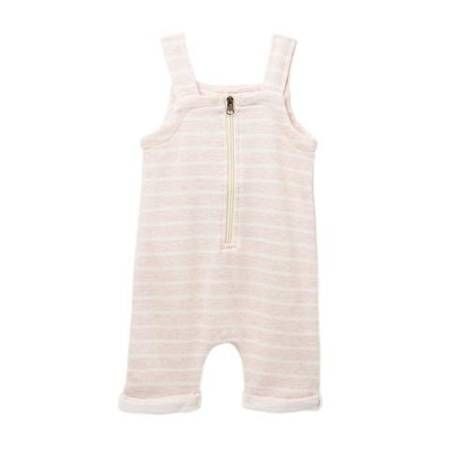 Young + Free | Pink Stripe Romper