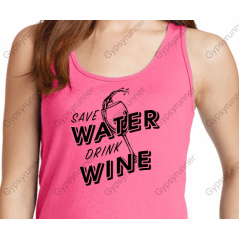 Add a design SAVE WATER DRINK WINE