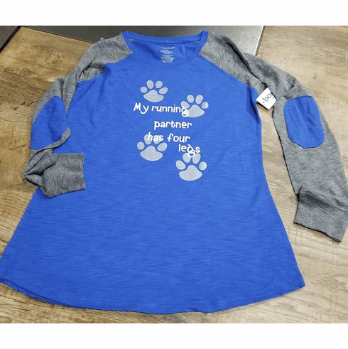 Artwork Running Partner/pawprints on back