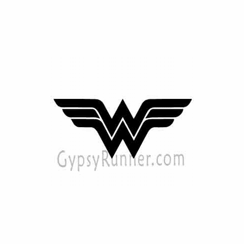 Window Decal Wonder Woman