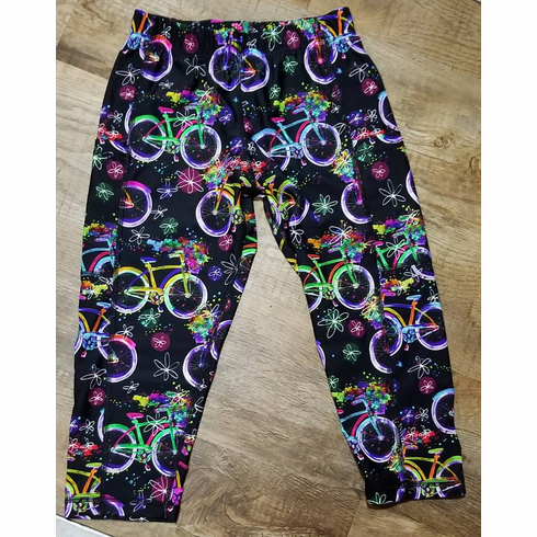 Double Pocket Capris Bicycle