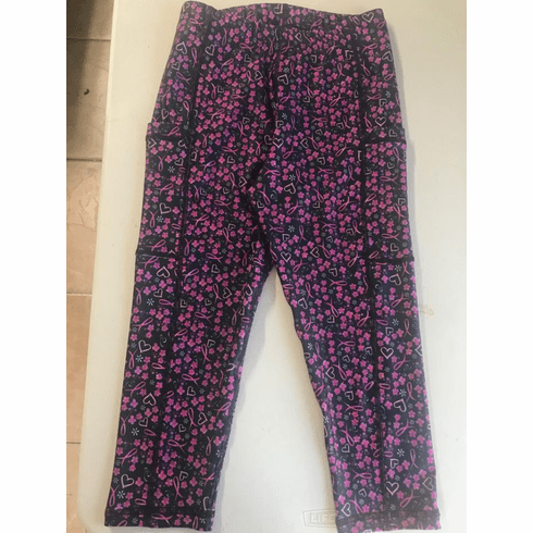Double Pocket Capris Breast Cancer