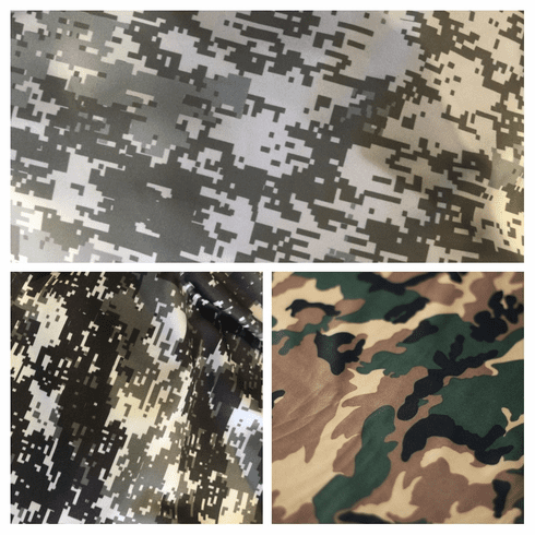 Double Pocket Capris Camo options