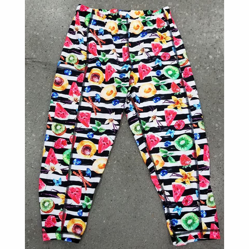 Double Pocket Capris Fruity Picnic