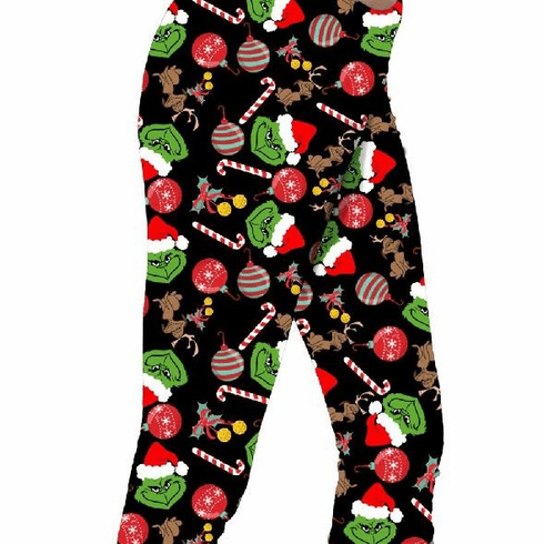 Double pocket capris grinch WILL ARRIVE RIGHT BEFORE CHRISTMAS