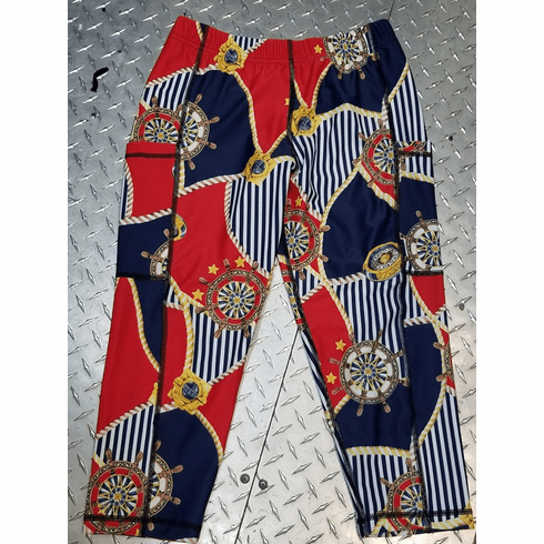 Double pocket capris nautical