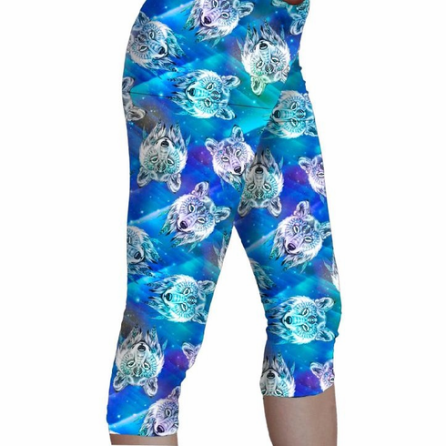 Double pocket capris Spirit of the wolf