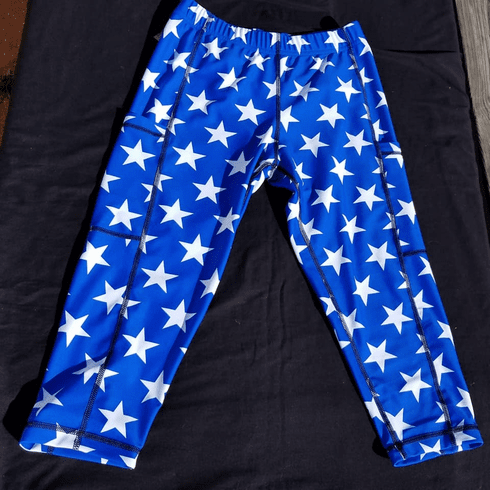Double Pocket Capris Star
