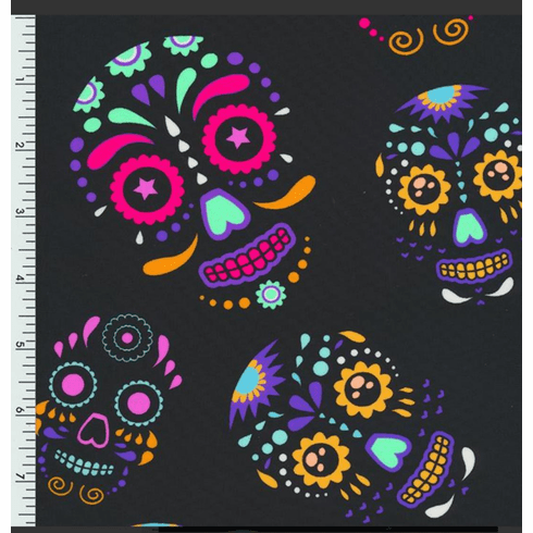 Double Pocket Pants candy skulls