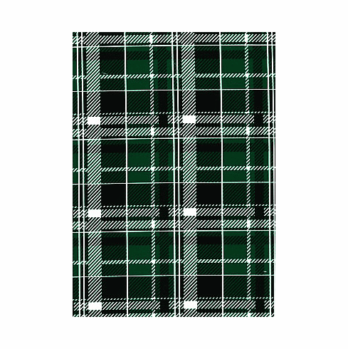 Double pocket pants cold gear green plaid
